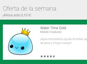 Blueprint 3D y Water Time Gold, ofertas de la semana en Google Play
