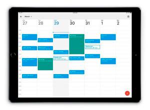 Google Calendar ya está optimizado para iPad