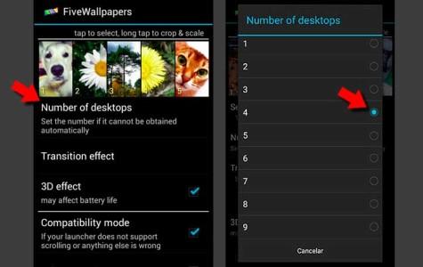 personalizar el escritorio de tu Samsung Galaxy S8 con fotos independientes