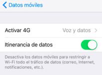 Cómo configurar el roaming para usar en tu iPhone la tarifa de datos en el extranjero