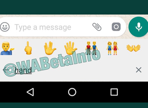 WhatsApp incorporará un buscador de emojis