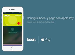 Boon., una alternativa para pagar con Apple Pay, ya disponible en España