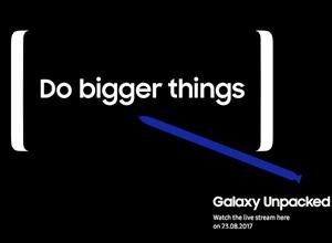 El Samsung Galaxy Note 8 será presentado oficialmente el 23 de agosto
