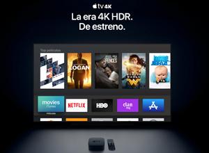 Apple TV 4K, para disfrutar de imágenes mucho más nítidas y definidas