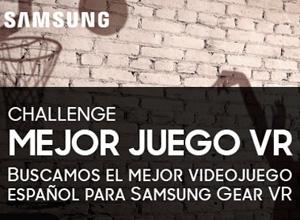 Samsung premiará el mejor videojuego para Gear VR desarrollado en España