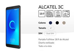 Ya a la venta en España el Alcatel 3C