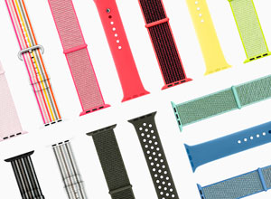 Éstas son todas las nueva correas oficiales para el Apple Watch