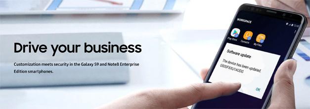 Enterprise Edition, el programa de Samsung dirigido a empresas