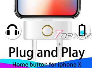Este accesorio 'recupera' el botón Home y el puerto de auriculares para el iPhone X