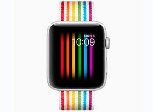 Celebra el Día del Orgullo con nueva la correa oficial para el Apple Watch