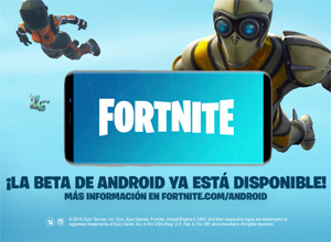 Fortnite ya está disponible, en fase beta, para Android