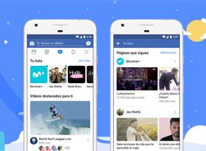 Watch, lo nuevo de Facebook para descubrir vídeos