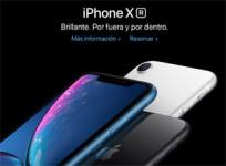 Apple abre el periodo de reserva del iPhone XR
