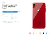 El iPhone XR cuenta con su propia funda oficial transparente