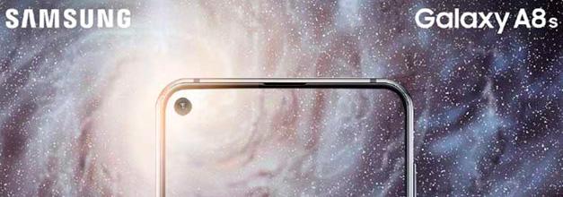 Galaxy A8S, lo nuevo de Samsung que estrena su pantalla Infinity-O como cámara frontal integrada