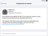 iOS 12.1.4, que soluciona el error de FaceTime, ya disponible