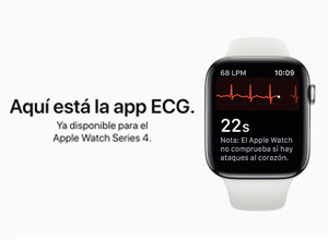 La app de ECG para el Apple Watch Series 4 llega a España con watchOS 5.2