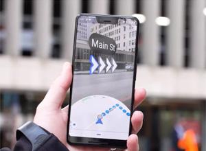 Así es el modo de realidad aumentada para Google Maps