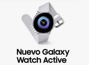 Galaxy Watch Active, el nuevo reloj de Samsung orientado a la práctica deportiva