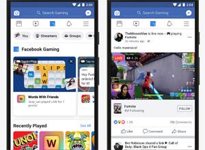 Facebook añade la pestaña Gaming, centrada en el juego
