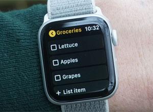 Google Keep añade soporte para el Apple Watch