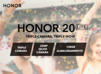 Honor 20 Lite, con cámara de triple sensor por 299 euros