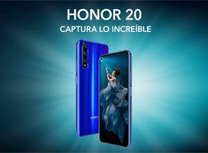 El Honor 20 ya está disponible en España por 499 euros