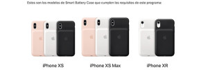 Apple habilita un programa de reemplazo de las Smart Battery Case para iPhone XS, iPhone XS Max y iPhone XR
