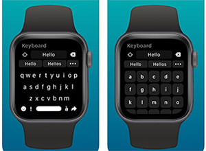 Shift Keyboard, un funcional teclado para el Apple Watch