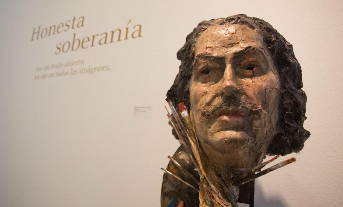 Una de las piezas presente en la exposición de la sala Santa Inés - VANESSA GÓMEZ