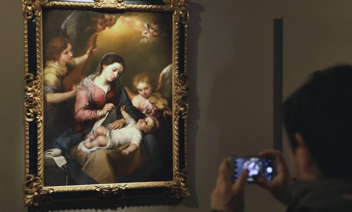 Virgen de la Faja de Murillo - J.M. SERRANO