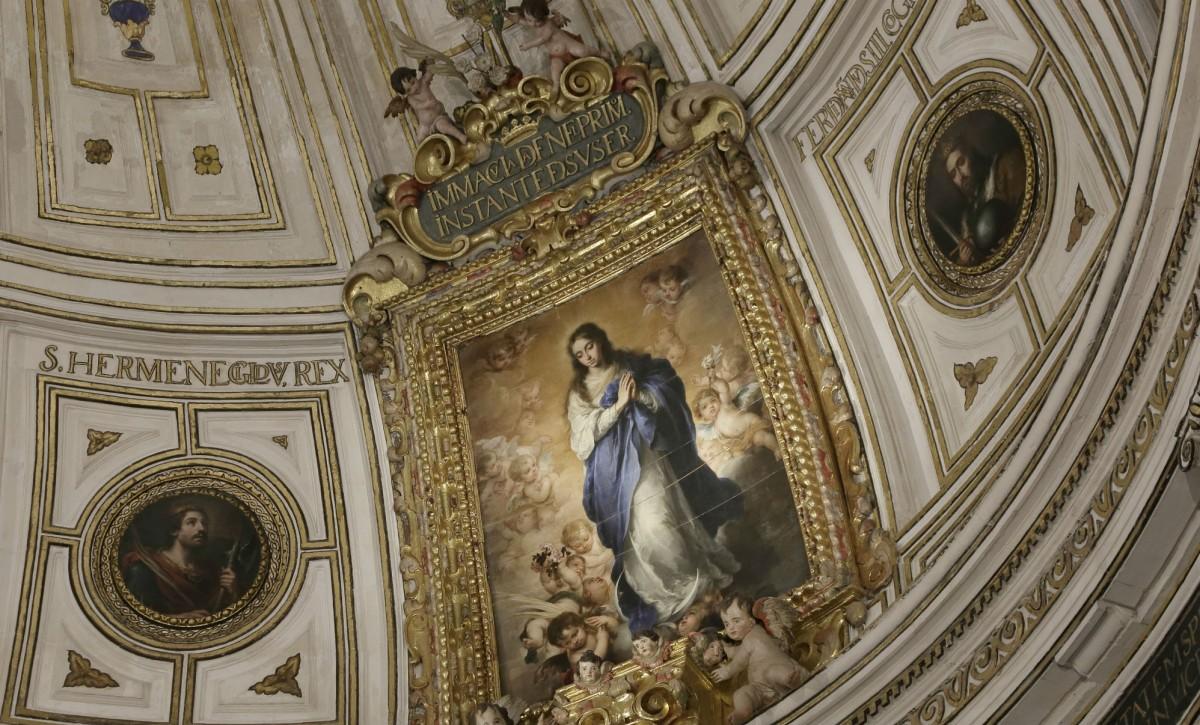 Inmaculada Concepción de Murillo en La Catedral de Sevilla